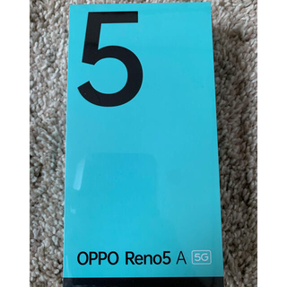 OPPO - OPPO Reno5 A  シルバーブラック 新品 未開封