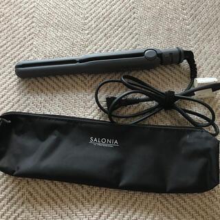 SALONIA ストレートヘアアイロン 15mm (ヘアアイロン)
