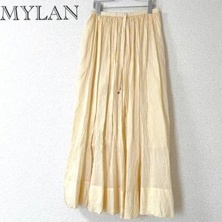 Ron Herman - 未着用 mylan マイラン  クリンクル シルク スカート  63,800円