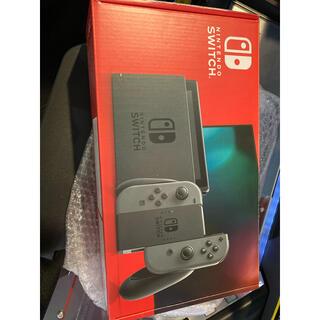ニンテンドースイッチ(Nintendo Switch)のNintendo Switch 任天堂 スイッチ グレー(家庭用ゲーム機本体)