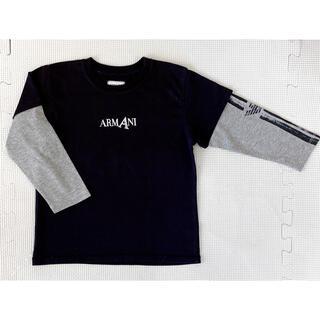 アルマーニ(Armani)の【美品】★ARMANI JUNIOR★長袖Tシャツ★90-100(Tシャツ/カットソー)