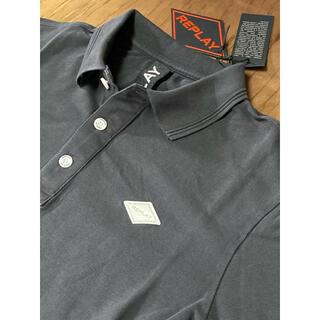 Replay - REPLAY  新品未使用 Sサイズ ポロシャツ ワンポイント ロゴ リプレイ