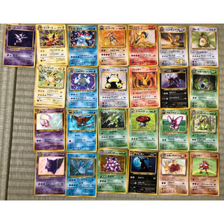 ポケモン(ポケモン)のポケモンカード旧裏 キラカード(シングルカード)