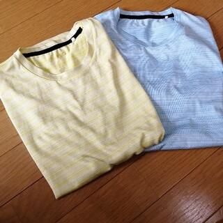 ジーユー(GU)のジーユーGUメンズSTシャツ2点セット(シャツ)