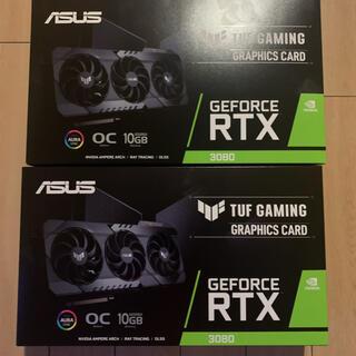 ASUS - 新品 2台セット ASUS TUF GeForce RTX 3080 O10G