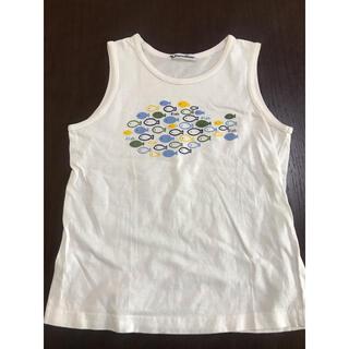 ファミリア(familiar)のファミリア 120㎝ 男の子 タンクトップ ホワイト(Tシャツ/カットソー)