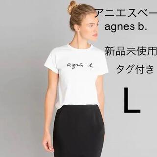 agnes b. - アニエスベー agnes Tシャツ 白 L