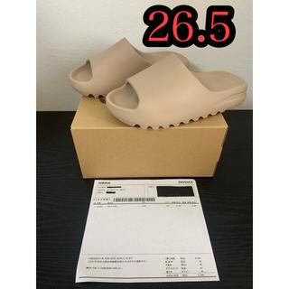 アディダス(adidas)のadidas yeezy slide pure  イージー スライド 26.5㎝(サンダル)