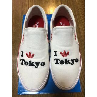 アディダス(adidas)のadidasスリッポン💖可愛いデザイン💖(スリッポン/モカシン)