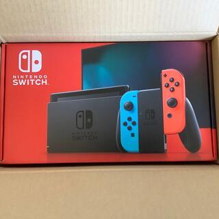 ニンテンドースイッチ(Nintendo Switch)の任天堂スイッチ Nintendo Switch 本体 ネオン  新品 未開封  (家庭用ゲーム機本体)