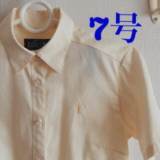 イーストボーイ(EASTBOY)のEAST BOY 半袖シャツ イエロー(シャツ/ブラウス(半袖/袖なし))