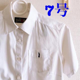 イーストボーイ(EASTBOY)のEAST BOY 半袖シャツ 白・胸ポケット付(シャツ/ブラウス(半袖/袖なし))