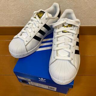 アディダス(adidas)のアディダス スーパースター ホワイト ブラック W 24(スニーカー)