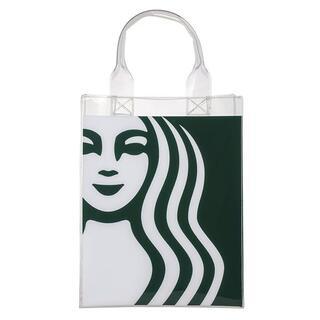 スターバックスコーヒー(Starbucks Coffee)のスターバックス :トートバッグ クリア スタバ 台湾 限定商品 (ハンドバッグ)