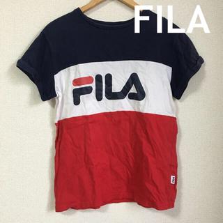 フィラ(FILA)のFILA■レディーストップス 半袖 L(Tシャツ(半袖/袖なし))
