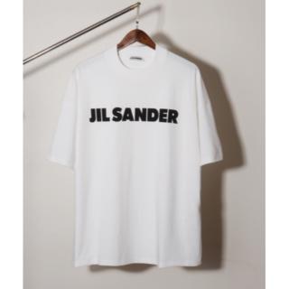 【S】JIL SANDER ロゴ プリント コットン TシャツS