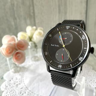 ポールスミス(Paul Smith)の【美品】Paul Smith ポールスミス 腕時計 チャーチストリート ブラック(腕時計(アナログ))