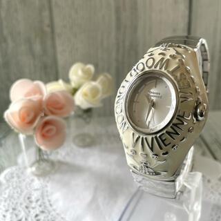ヴィヴィアンウエストウッド(Vivienne Westwood)の【希少】ヴィヴィアン  腕時計 カレッジリング ホワイト メンズ(腕時計(アナログ))
