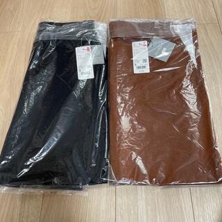 UNIQLO - エアリズムコットンスリットスカート Sサイズ ブラウン  ブラック 茶色 黒
