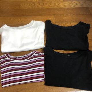 ジーユー(GU)のGU Tシャツ 4枚セット(Tシャツ(半袖/袖なし))