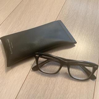 UNITED ARROWS - 【セール】United arrows 黒フレームメガネ 眼鏡 ブラック