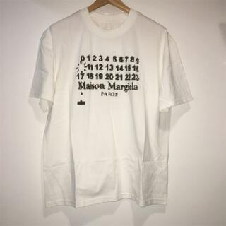 マルタンマルジェラ(Maison Martin Margiela)のMaison Margiela ロゴ Tシャツ(Tシャツ/カットソー(半袖/袖なし))