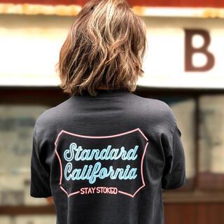 スタンダードカリフォルニア(STANDARD CALIFORNIA)のSD Heavyweight Neon Sign Logo T(Tシャツ/カットソー(半袖/袖なし))