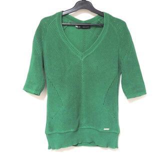 ディースクエアード(DSQUARED2)のディースクエアード 半袖セーター サイズS(ニット/セーター)