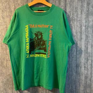 Supreme - PADWAN DJ AFRIKA  ZULU NATION 半袖Tシャツ