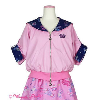Angelic Pretty - AngelicPretty Neon Star Dinerセーラーブルゾンピンク