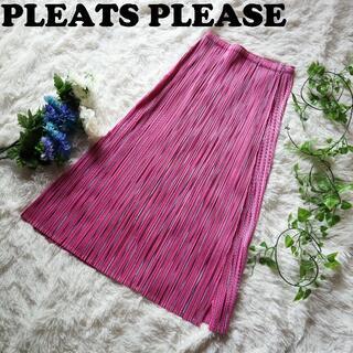 PLEATS PLEASE ISSEY MIYAKE - プリーツプリーズ PLEATS PLEASE ロングスカート イッセイミヤケ