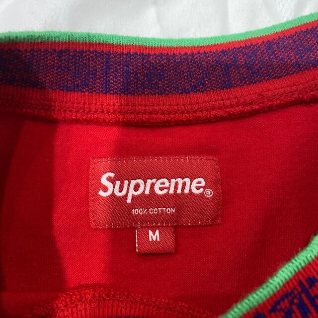 Supreme(シュプリーム)のSupreme Old English Collar Logo L/S Top メンズのトップス(スウェット)の商品写真