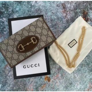 Gucci - GUCCI グッチ 長財布グッチ ホースビット 1955
