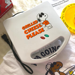 Snoopyスヌーピー ホットサンドメーカー(2回み使用)(サンドメーカー)