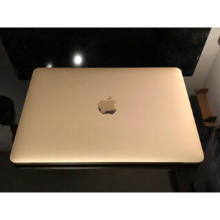 Mac (Apple) - MacBook Retina 12inch Eerly 2016 ゴールド