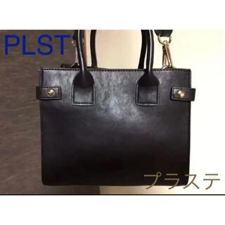 PLST - PLST プラステ ミニショルダーバッグ 黒 2way