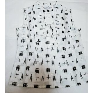 アニエスベー(agnes b.)のアニエスb ノースリーブシャツ(シャツ/ブラウス(半袖/袖なし))