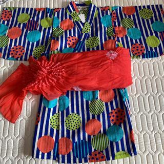アンパサンド(ampersand)の浴衣 新品 90cm(甚平/浴衣)