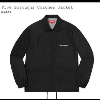 Supreme - Supreme Five Boroughs Coaches Jacket 黒XL