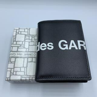 COMME des GARCONS - COMME DES GARCONS HUGE LOGO CARD CASE 財布