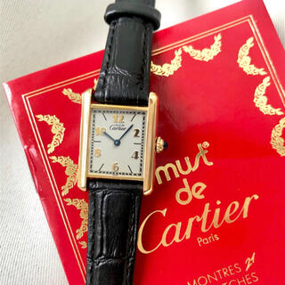 Cartier - 美品✨ カルティエ Cartier マストタンク 6点アラビア 腕時計