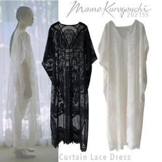 mame - Mame Kurogouchi レースドレス ワンピース ホワイト