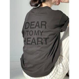 スピックアンドスパン(Spick and Span)のSpick&Span スピックアンドスパン バックロゴ Tシャツ 新品 未使用(Tシャツ(半袖/袖なし))