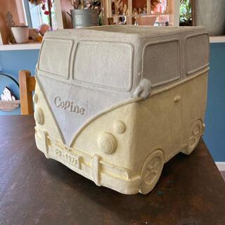 車型陶器鉢(プランター)