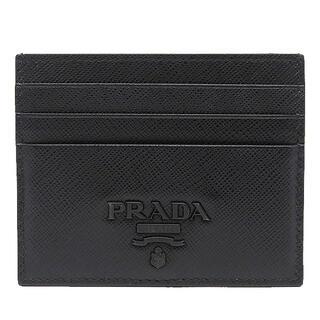 プラダ(PRADA)のプラダ  カードケース  名刺入れ 1MC025  ブラック(パスケース/IDカードホルダー)