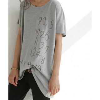 antiqua - antiqua アンティカ ワイドロゴTシャツ◇ 新品