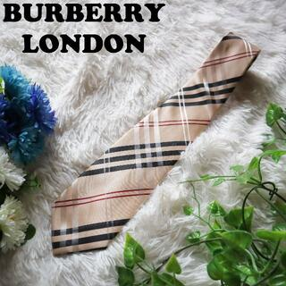 バーバリー(BURBERRY)のバーバリーロンドン BURBERRY LONDON ネクタイ ノバチェックシルク(ネクタイ)