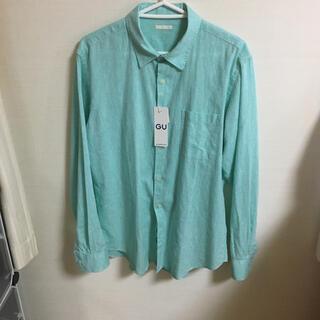 ジーユー(GU)のジーユー リネン ブレンドシャツ ZARA H&M(シャツ)