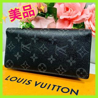LOUIS VUITTON - ✨美品✨ヴィトン✨モノグラム✨エクリプス✨ポルトフォイユ・ブラザ✨長財布✨