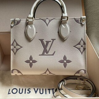 LOUIS VUITTON - ルイヴィトン オンザゴーPM クレーム